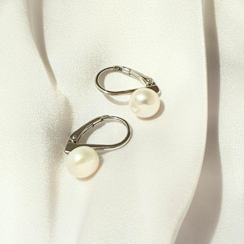 eternitty pearl naušnice